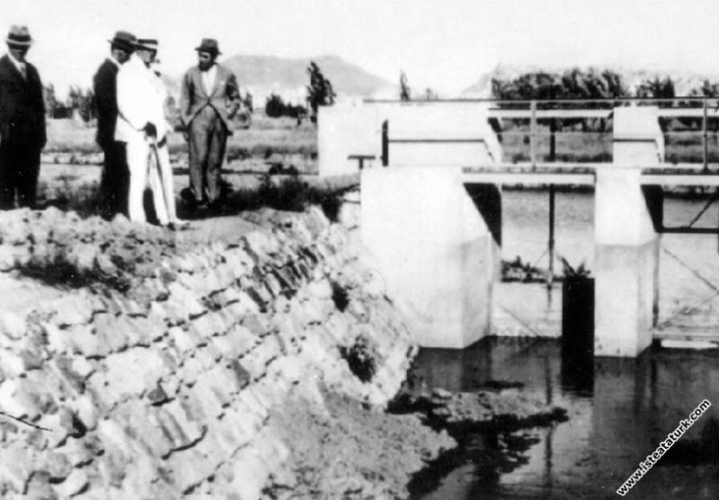 Mustafa Kemal Atatürk Gazi Orman Çiftliği'nde su k...