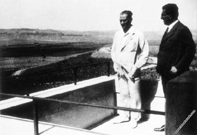 Mustafa Kemal Atatürk Gazi Orman Çiftliği'nde Marm...