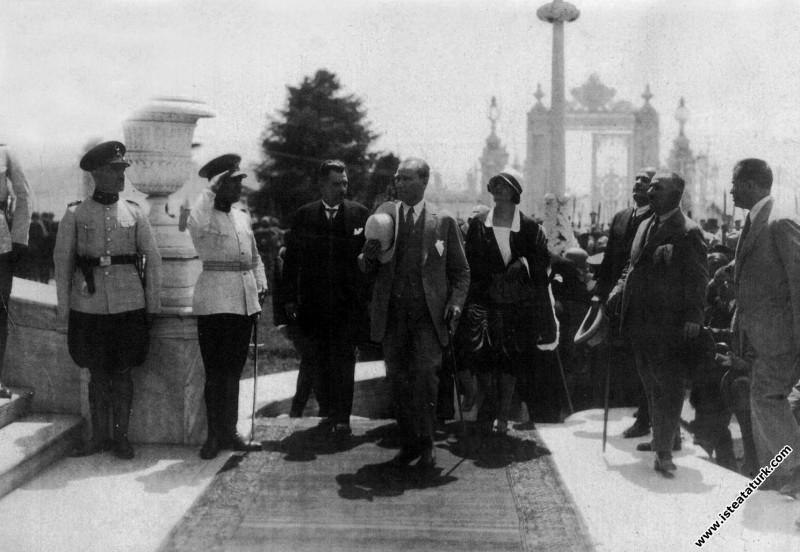 Mustafa Kemal Atatürk'ün İstanbul Dolmabahçe Saray...