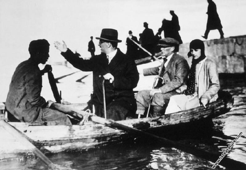 Mustafa Kemal Atatürk'ün Yalova, Samanlı Deresi'nd...