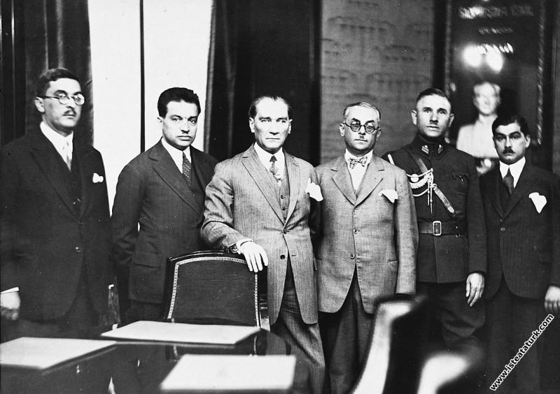 Mustafa Kemal Atatürk İş Bankası'nın Ankara'da yen...
