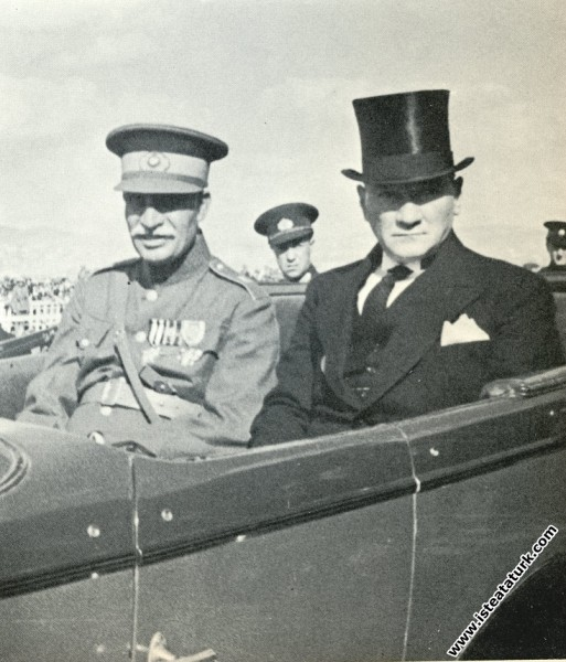 Mustafa Kemal Atatürk'ün İran Şahı'nın Türkiye'yi ...