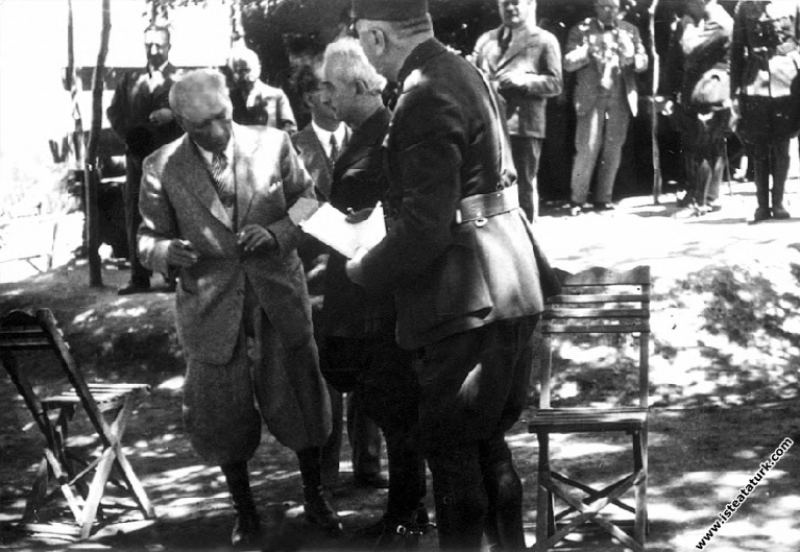 Mustafa Kemal Atatürk, Seydiköy Askeri Manevraları...