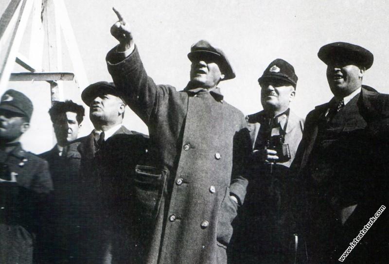 Mustafa Kemal Atatürk İstanbul Metris'te, Harp Aka...
