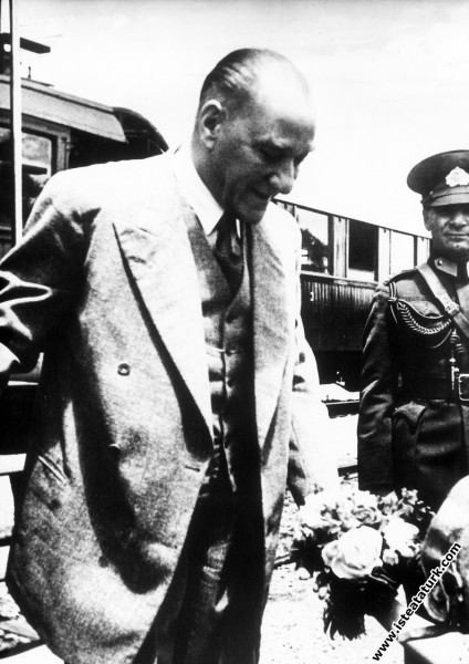 Mustafa Kemal Atatürk'ün Gazi Orman Çiftliği'nde t...
