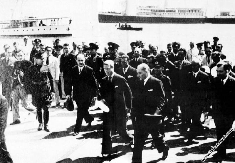 Mustafa Kemal Atatürk İngiltere Kralı VIII. Edward...