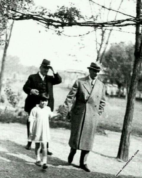 Mustafa Kemal Atatürk Gazi Orman Çiftliği'nde mane...