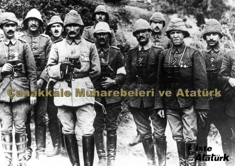 Çanakkale Muharebeleri ve Atatürk