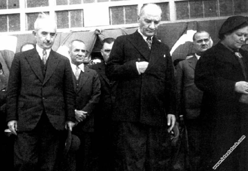 Mustafa Kemal Atatürk, Ankara'dan İstanbul'a geliş...