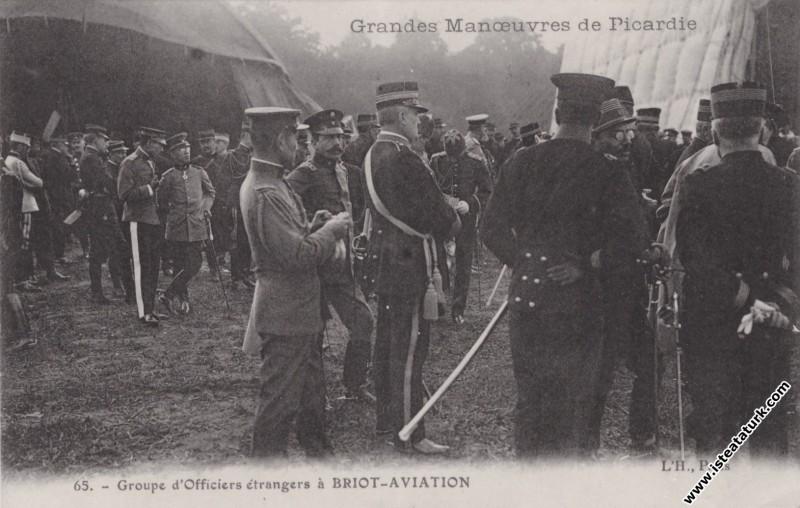 Mustafa Kemal'in Fransa'da Picardie Manevralarında...