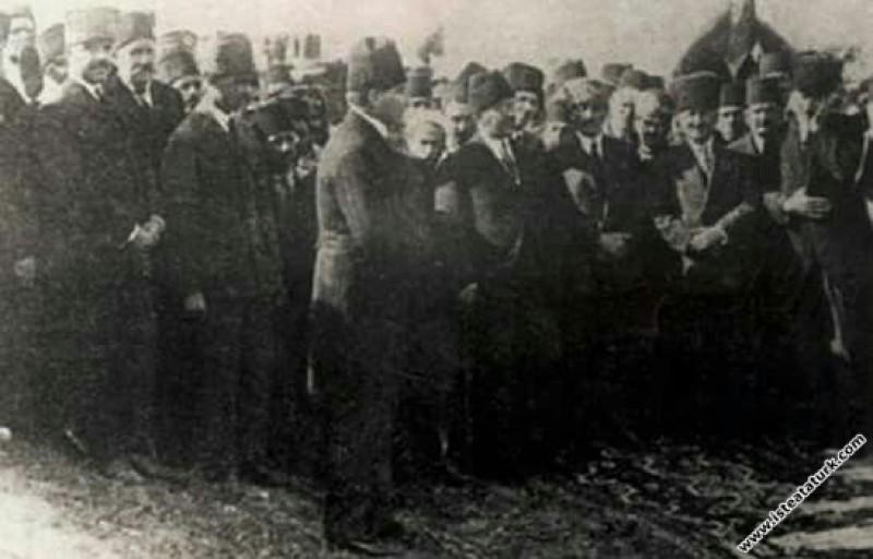 Mustafa Kemal Atatürk, Samsun Çarşamba Demiryolu İ...