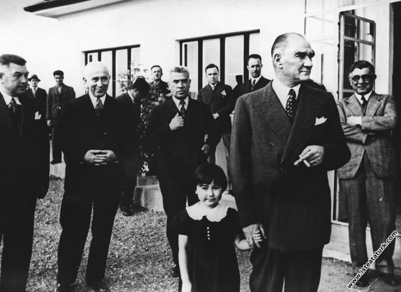 Mustafa Kemal Atatürk, Dersim Harekatı'ndan dönen ...