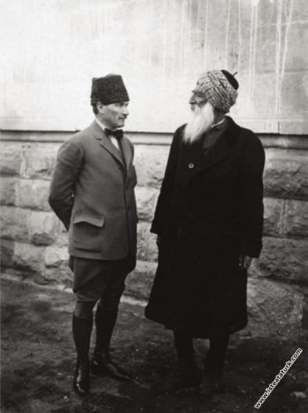 T.B.M.M. Başkanı Mustafa Kemal, Dersim (Tunceli)...