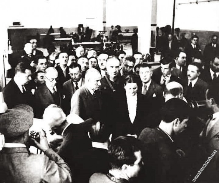 Atatürk Sümerbank Nazilli Basma Fabrikası'nın açıl...