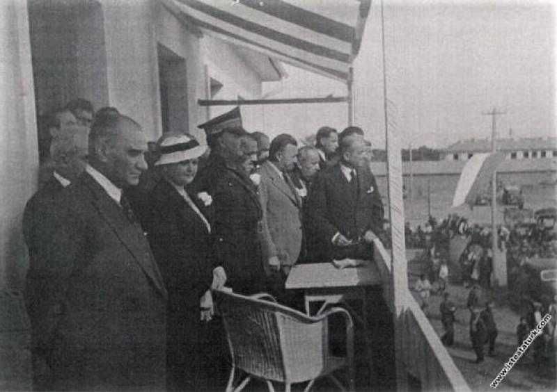 Atatürk'ün Sümerbank Nazilli Basma Fabrikası'nın a...
