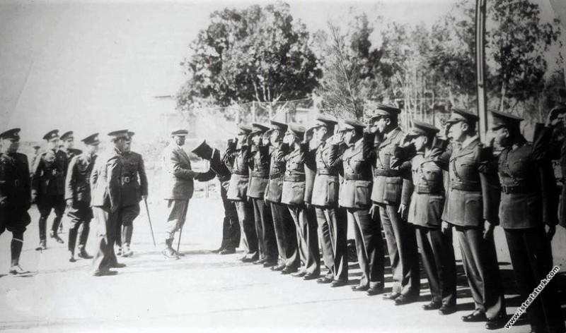 Mustafa Kemal Atatürk Seydiköy Hava Kuvvetleri'ni ...