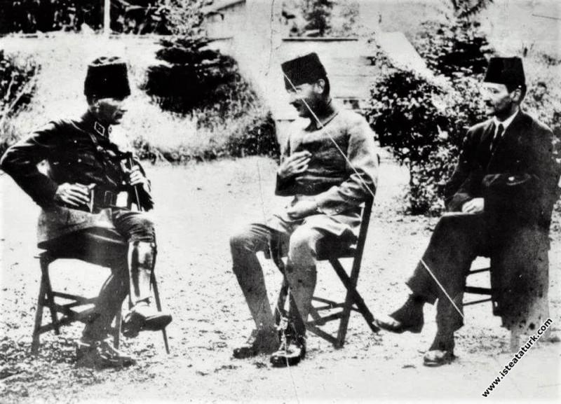 Mustafa Kemal Paşa Karaçam'da Kocaeli Grup Kumanda...