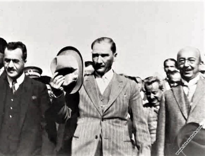 Kastamonu'da şapka giymenin gereğini anlatan Atatü...