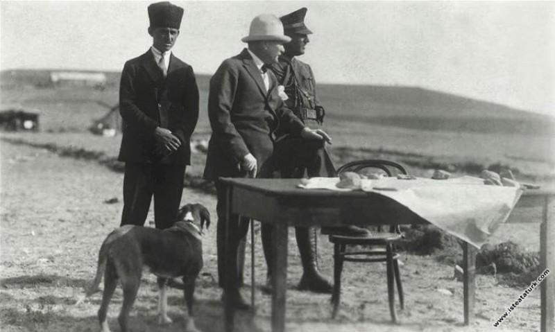 Mustafa Kemal Paşa Gazi Orman Çiftliği'nde çalışma...