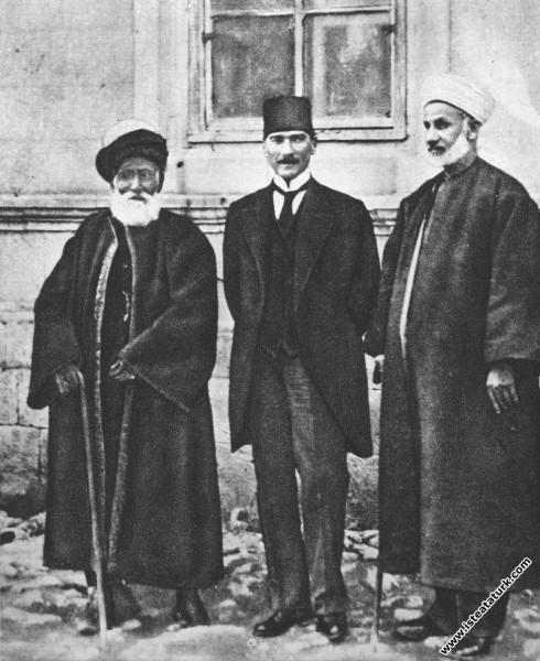 Mustafa Kemal, Sivas Kadısı Hasbi Efendi ve Şeyh F...