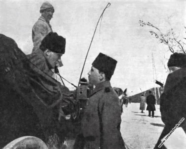 VII. Ordu Komutanı Tümgeneral Mustafa Kemal Şam'da...