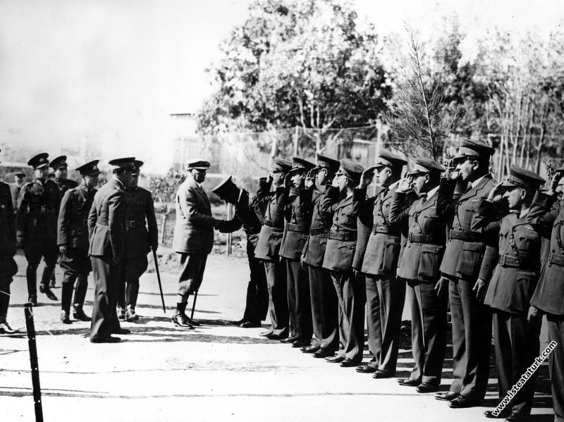 Mustafa Kemal Atatürk Seydiköy Hava Kuvvetleri'n...