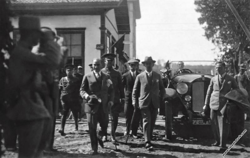 Gazi Mustafa Kemal Atatürk, Samsun tren istasyonun...