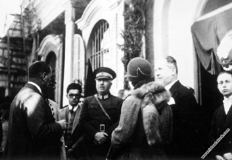 Mustafa Kemal Atatürk Antalya'ya hareketinden ön...