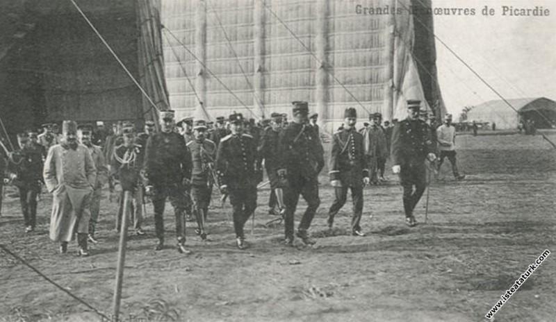 Mustafa Kemal Picardie Manevraları'nda. (17-28.09.1910)