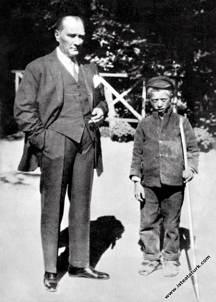 Sığırtmaç Mustafa'nın, Atatürk'le karşılaşması. (16.09.1929)