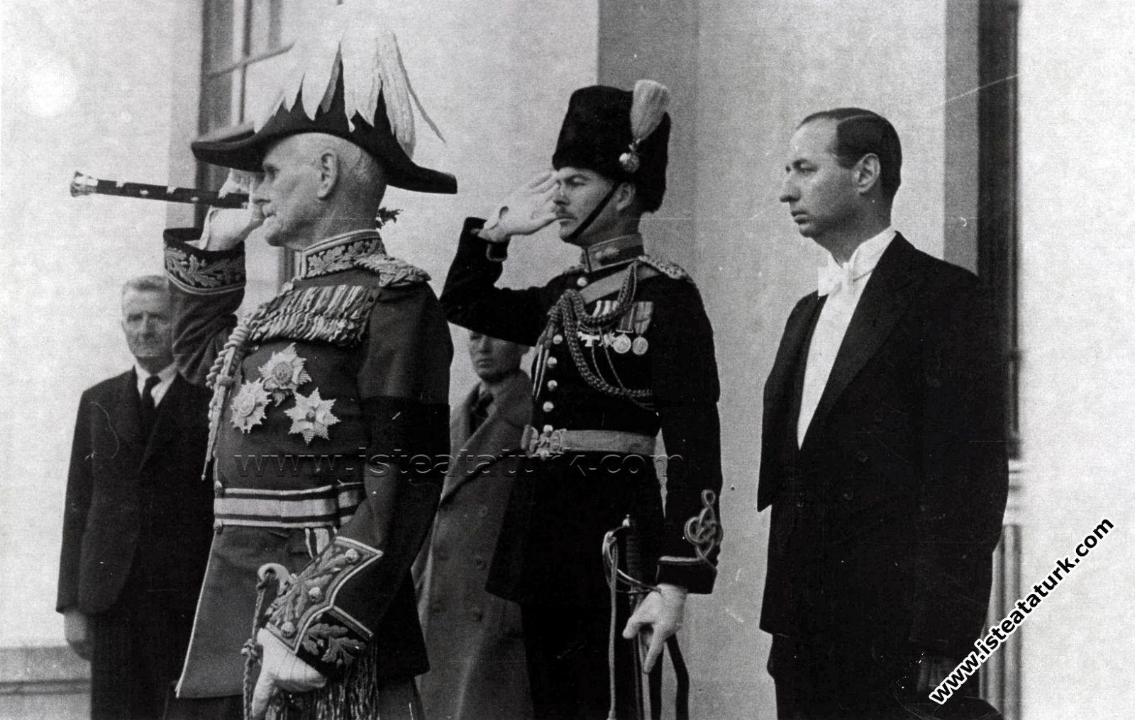 Feld Mareşal Baron William Birdwood21 Kasım 1938 Ankara Halkevi'nde