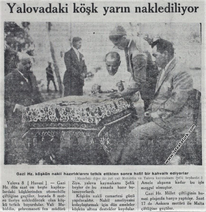 Akşam Gazetesi (9 Ağustos 1930)